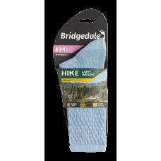 Bridgedale Ladies Hike Lightweight Merino Boot Sock Powder Blue