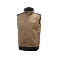 HH Workwear Chelsea Lined Vest Timber
