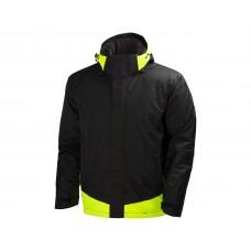 Helly Hansen Leknes Jacket Black Yellow