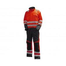 Helly Hansen Alna Hi Vis Suit Orange/Charcoal