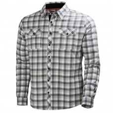 HH VANCOUVER FLANNEL SHIRT  Charcoal Check