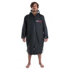 Dryrobe Advance Long Sleeve Black Grey Adult M