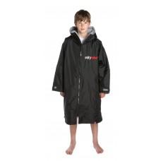 Dryrobe Advance Kids Long Sleeve Black/Grey Age 10-14 Years