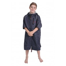 Charlie Mc Leod Eco Sports Cloak Kids Navy Grey Age 10-13 Years