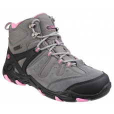 Cotswold Ladies Waterproof Mid Grey/Pink