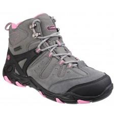 Cotswold Ladies Waterproof Mid Grey/Pink