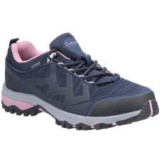 Cotswold Wychwood Low WP Walking Shoe Navy/Pink