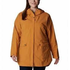 Columbia Women's Here And There™ Waterproof Trench Jacket Canyon Sun