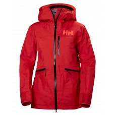 Helly Hansen Kvitegga Shell Jacket W Alert Red