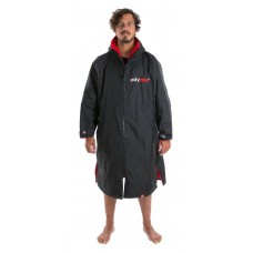 Dryrobe Advance Adult Long Sleeve Small Black/Red