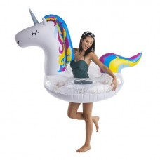 Bigmouth Giant Unicorn Sparkly Poolfloat