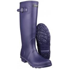 Cotswold Sandringham Ladies Welly Purple